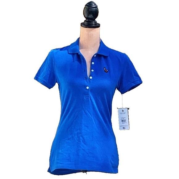 ☀️4/25 NWT HBC S/S Collared Polo Shirt